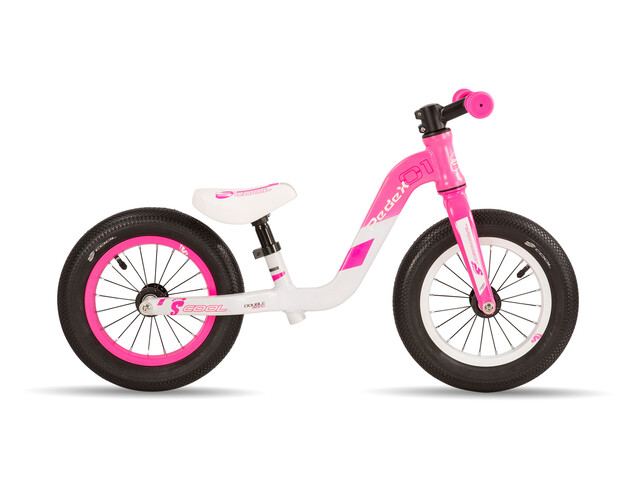s'cool pedeX 1 - Draisienne Enfant - rose/blanc
